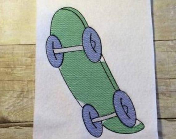 Skateboard Sketch Embroidery Design - skate board Sketch Embroidery Design - skater Sketch Embroidery Design