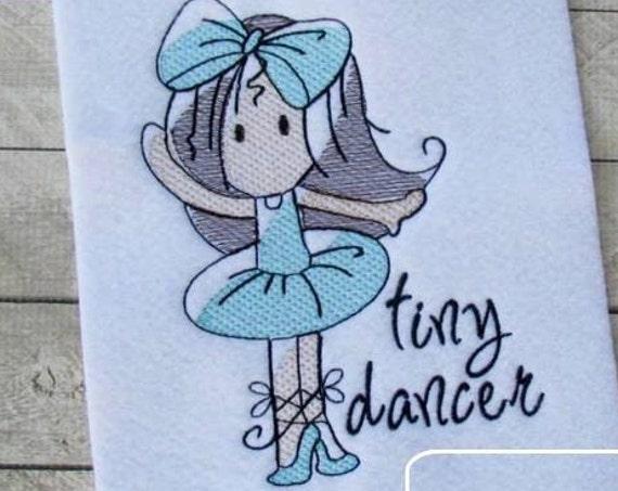 Ballerina embroidery design - Ballerina Sketch Embroidery Design - ballet Sketch Embroidery Design - ballerina Sketch Embroidery Design