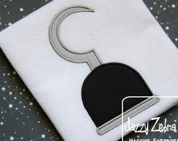 Pirate Hook Applique embroidery Design - pirate Applique Design - boy Applique Design - hook Applique Design - pirate hook Applique Design