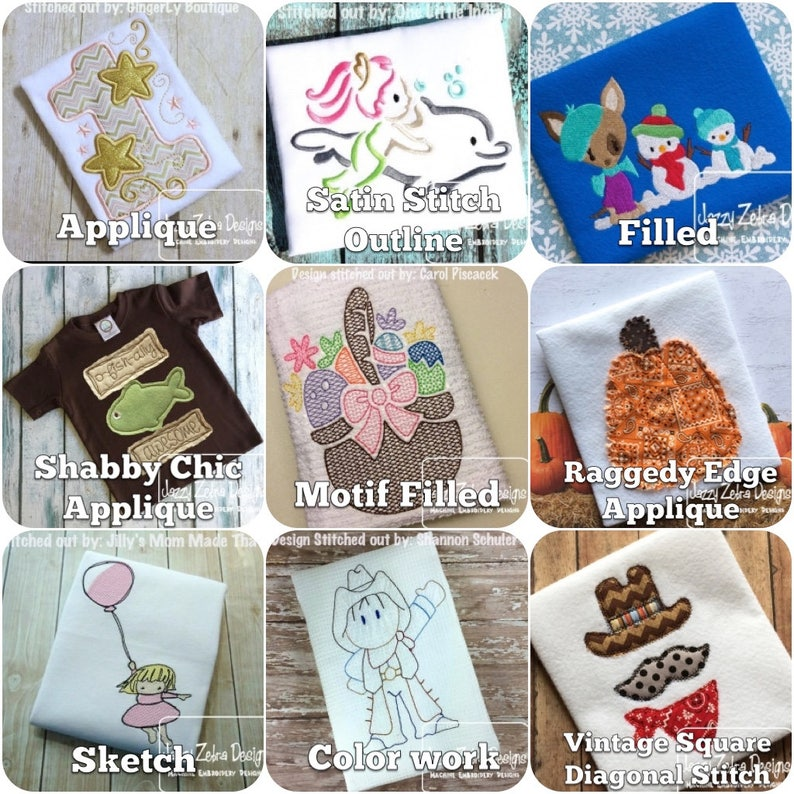Cat Appliqué machine embroidery Design - instant download design