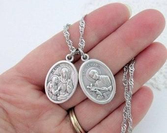 St Gerard Fertility Catholic Bangle Bracelet Jewelry Etsy