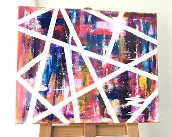 Color Palette, Painting by Moe Notsu