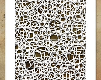 Tim Holtz Mini Layering Stencil ~ SET 39 ~ THMST039 ~ Stampers Anonymous