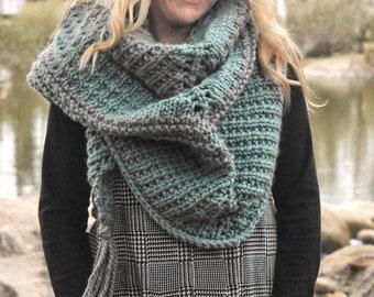 Cobblestone Pattern Warm Scarf Shawl Latest Fashion Womens Modern Print Wrap
