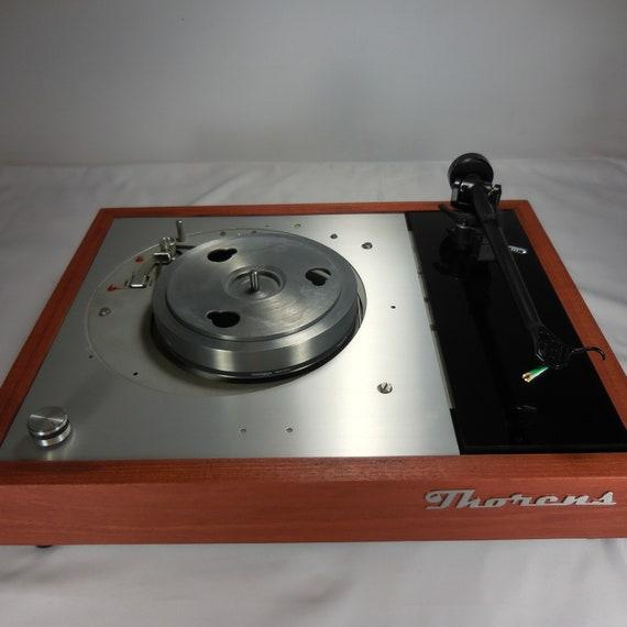 Transformed Vintage Thorens TD-150 Turntable, Upgraded Rega Arm, Solid 3/4