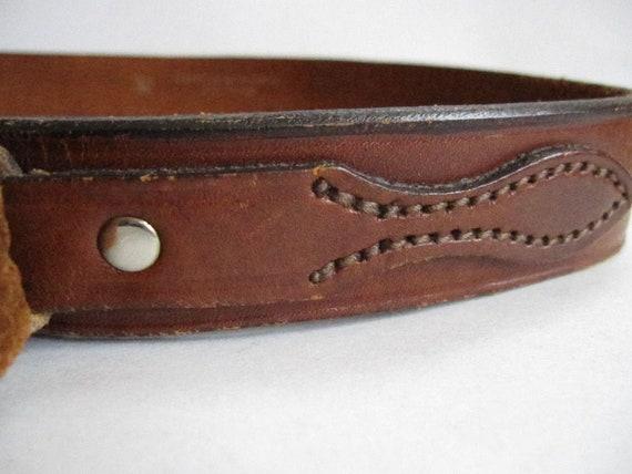 70s Vintage // Brown Leather // Boho // Equestrian