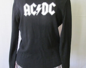 410a923a AC DC T Shirt Vintage Rock n Roll shirts ac dc Rock Concert T shirt Sz M Ac  Dc Music Rock n Roll Shirts The Band Ac Dc