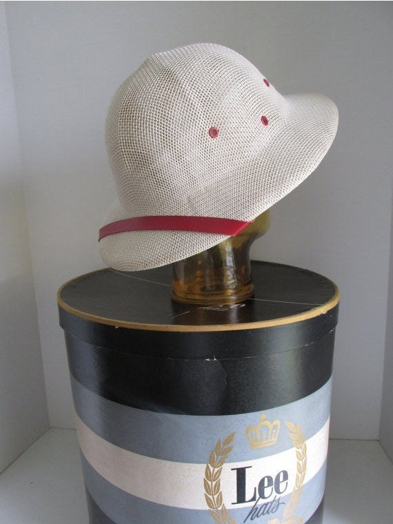 Safari Hat Red Hat Band Summer Hat Beach Accessori
