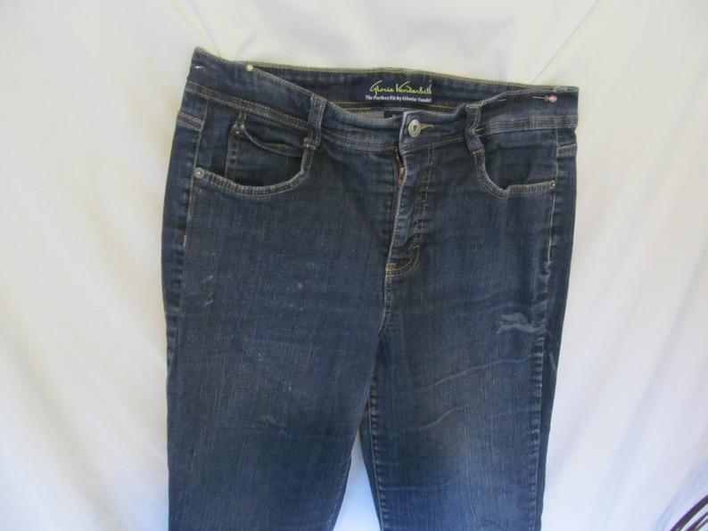 862967a673e7 FINAL SALE Jeans Gloria Vanderbilt Jeans sz 12 Gloria