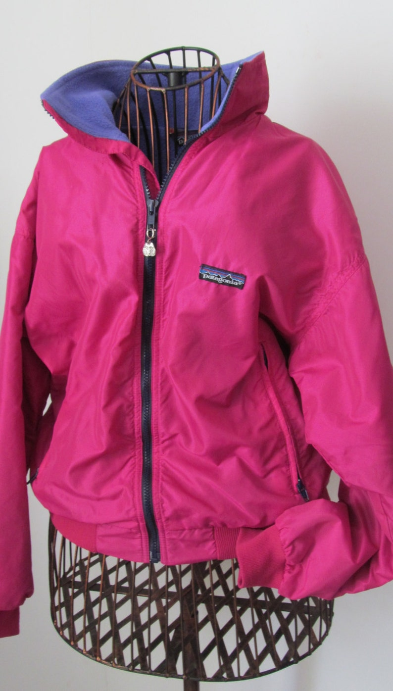 ced4e3ce2e9 90s Retro Pink Patagonia Jacket Winter Jacket Ski or