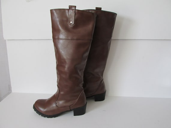 Brown Boots Womens Tall Boots Brown Womens sz 8 Eu