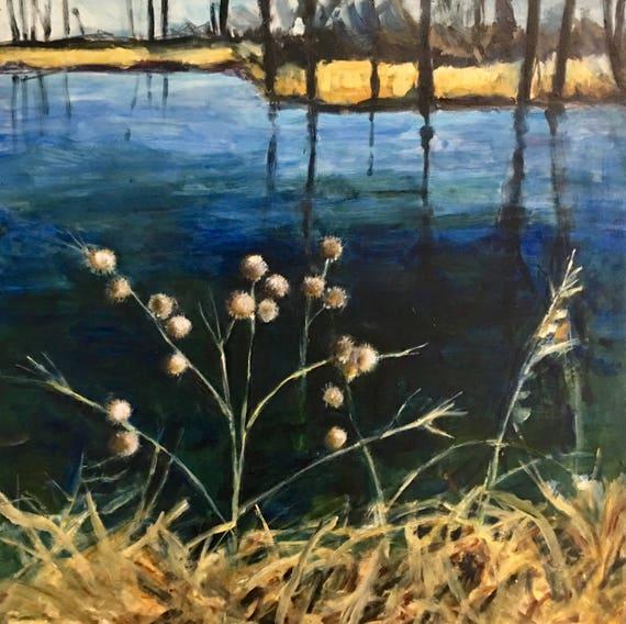 Burdock by the Pond