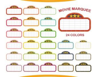 marquee clip art etsy rh etsy com movie theater marquee clipart movie marquee clipart