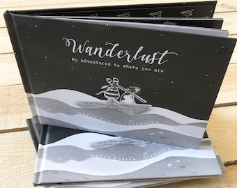 D1: Wanderlust, My adventures to where you are - The whimsical art & picture book by Nadya Bonten-Slenders • Children's book