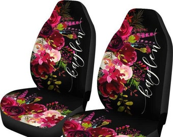 Monogram Seat Covers For Car