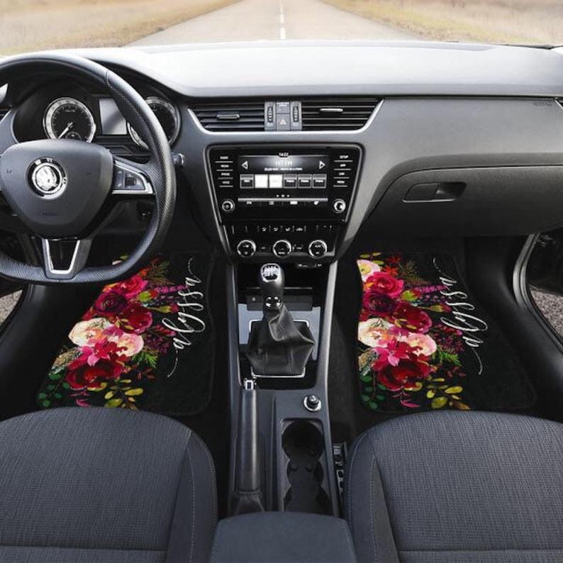 . Car Accessories for Women   Car Mats   Car Accessories for Women   Custom  Design   Car Accessories   Monogram Car Mats Car Accessories