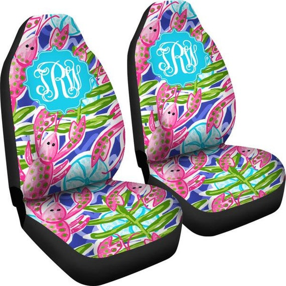Monogram Seat Covers For Car Lobster Cover
