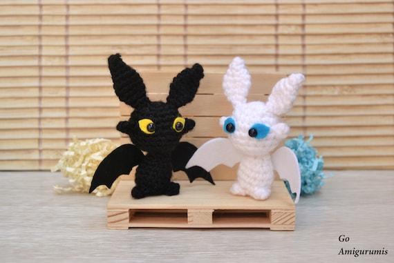 Toothless amigurumi (Chimuelo) | Patrones amigurumi, Crochet ... | 381x570