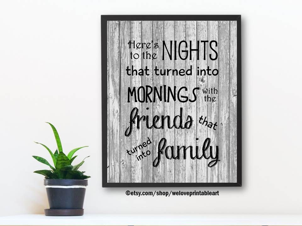 Printable Art Family Quotes Wall Decor Family Quote Sign Etsy