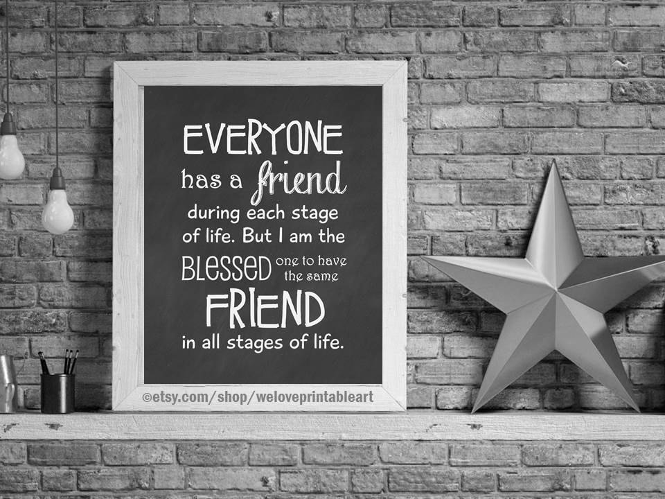 gifts for best friends christmas gift ideas birthday gift ideas for best friend digital art print friendship quote poster for her