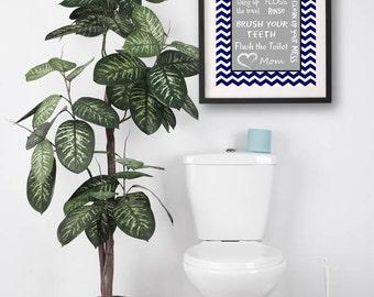 Kids Bathroom Decor Art Bathroom Artwork Printable Art Print Instant Download Bathroom Wall Quote Sign Wash Your Hands