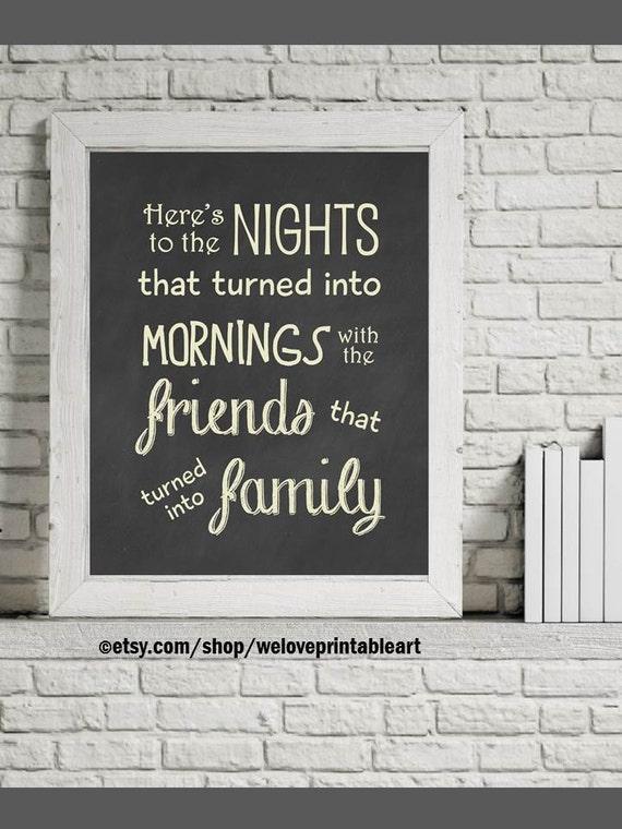 Home Decor Printable Art Family Print Family Quotes Family Etsy