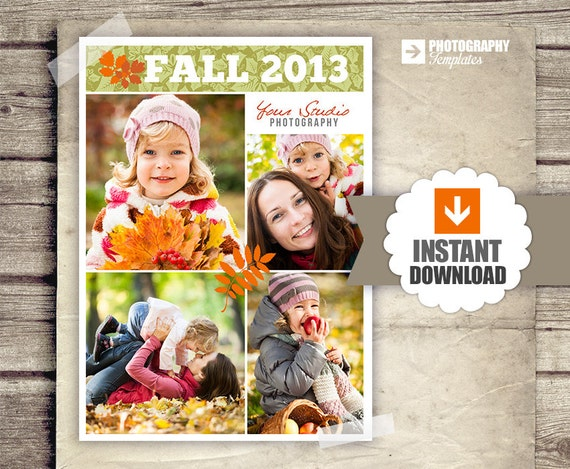 collage blog board fall collage poster newsletter blog etsy