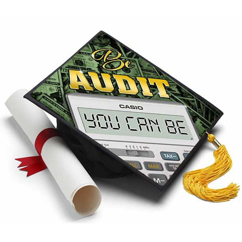 Accounting Decorated Grad Cap Decorating Kit Ideas For Etsy