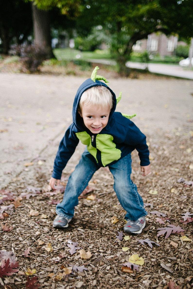 The Dinosaur Hoodie Dinosaur Costume Halloween Dino Boy Sweatshirt
