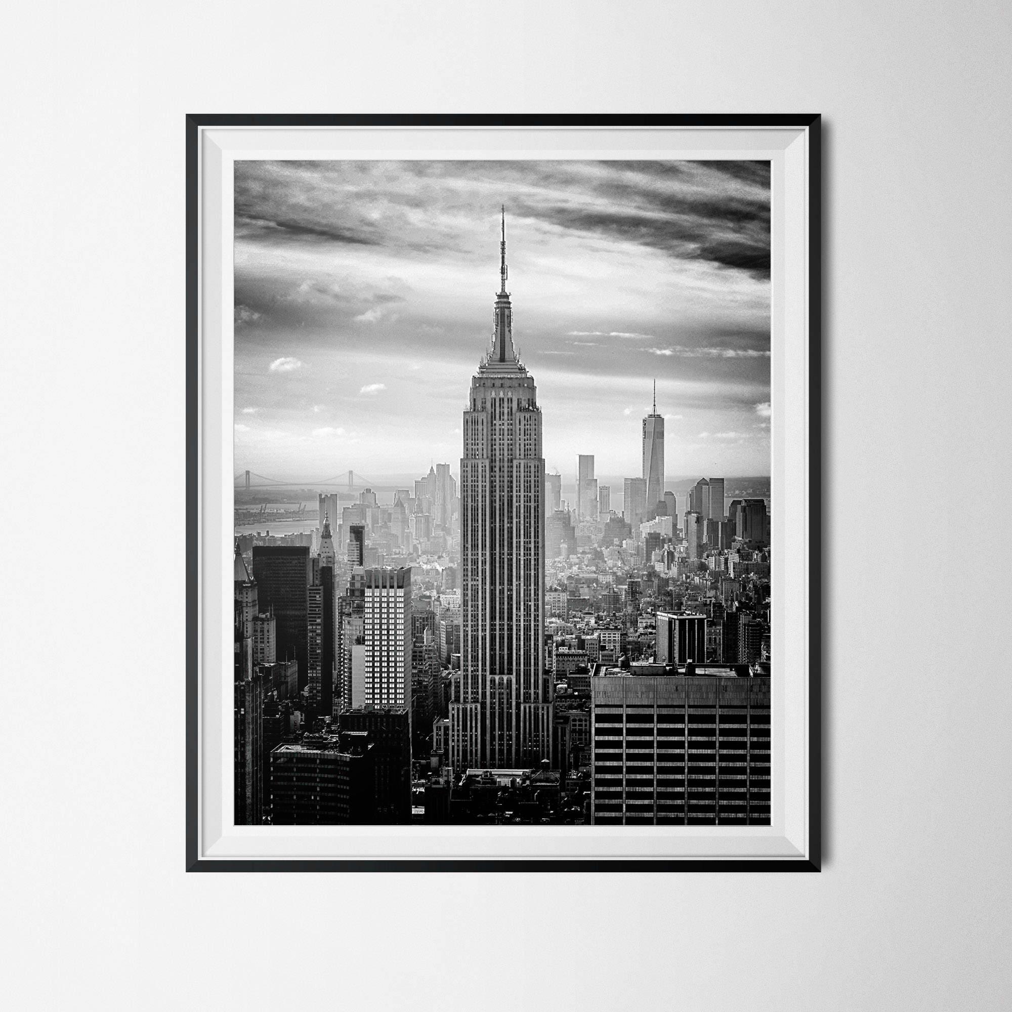 New York Print NYC Print Black & White Photo City Print | Etsy