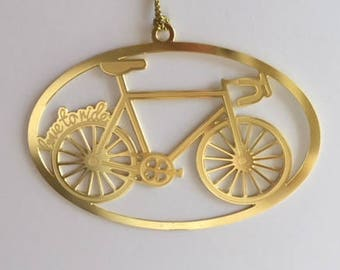 Cycling Ornament, Cycling Gift, Gift for Cyclist, Biking, Triathlon Gift, Triathlon Ornament - Perfect gift for cyclists!