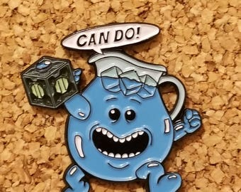 Mr. Meeseeks Pin - Can Do - Rick and Morty Pin - Koolaid Man