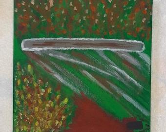 Guyana God Jim Jones Jonestown synaesthesia painting cult leader true crime art