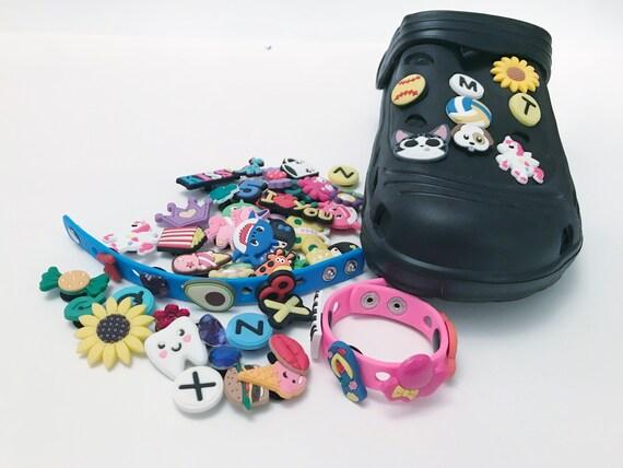 ZSWQ Inconnu 8 Pcs Different Shoe Charms,Charm Chaussures D/écoration for Croc Shoes /& Bracelet Wristband Kids Party Birthday Gifts Bijoux de chaussures M/élange de couleurs