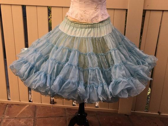 Blue Petticoat - 1950's Vintage
