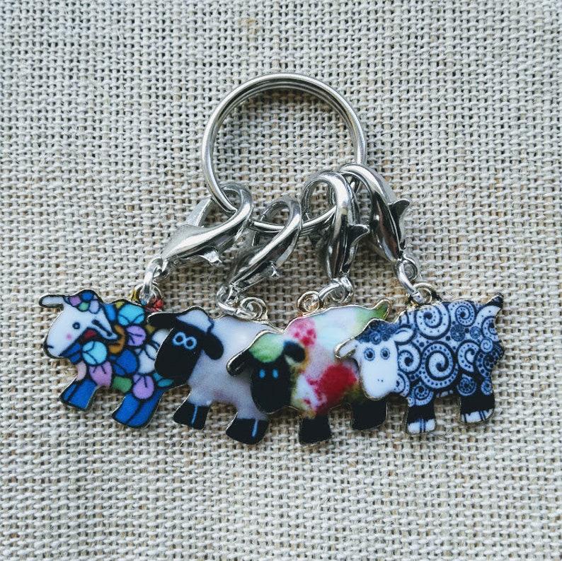 Sheep Stitch Marker for knitting Crochet Progress Keeper