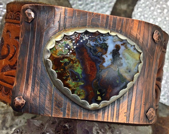 Forest grove all your friends drool,  enter the forest with Moss Agate, urban cowgirl