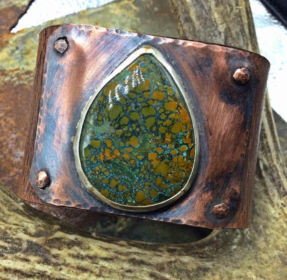 Turquoise matrix simplicity cuff by Weathered Soul jewelry, quality leather,cowgirl,craftsmanship,artisan, boho,urban chic,OOAK,USA made