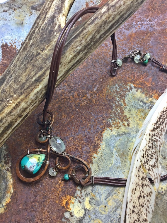 Just thrills necklace by Weathered Soul
