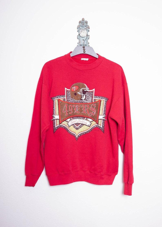 cdeaa56e6 49ers Sweat Shirt 90s Sweatshirt San Francisco 49ers