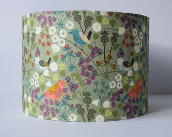 Green lamp shade etsy hedgerow lampshade aloadofball Image collections