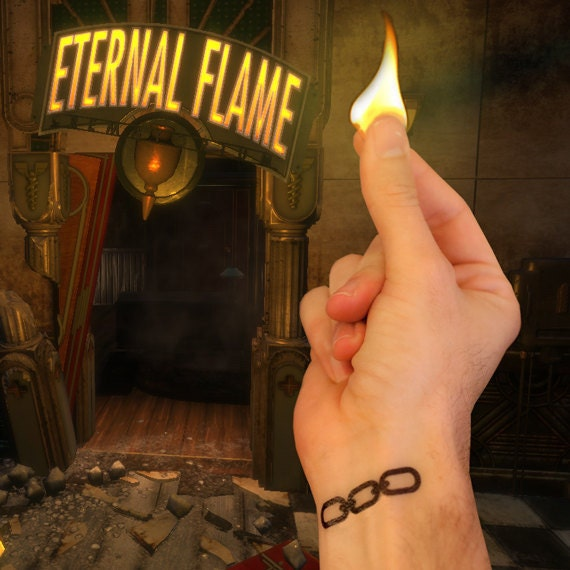 Chaîne de BioShock Tattoo / tatouage de Jack 2.0
