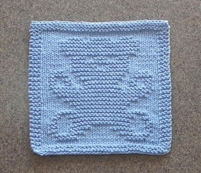 c869afb59 TEDDY BEAR Wash Cloth for baby or toddler. 100% Blue Cotton