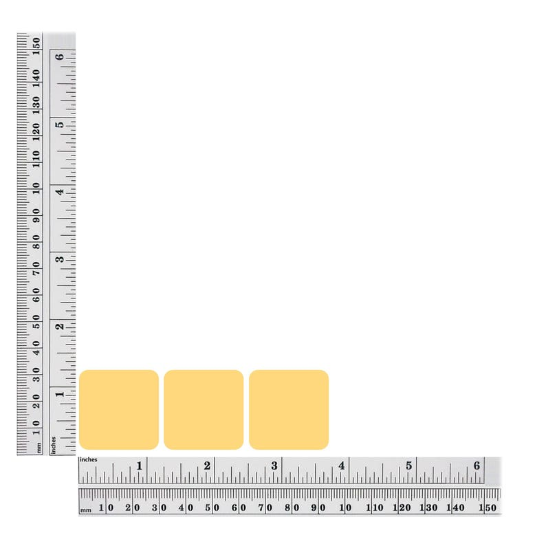 Square Sequin 30mm Beige Tan Opaque Vinyl Loose Couture Paillettes
