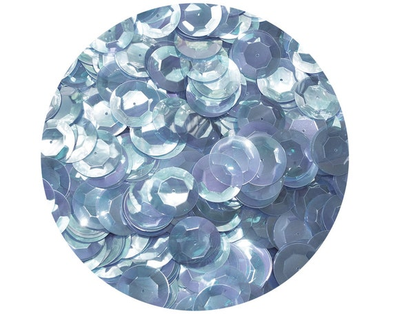 5mm Cup SEQUIN FACET PAILLETTES ~ ROYAL BLUE Metallic ~ Made in USA
