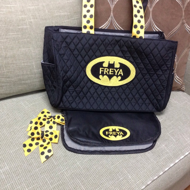 Batman Personalized ToteDiaper Bag