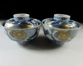 Imari Porcelain Lidded Bowls 2, Koedo