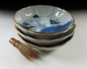 Three Antique Imari-ware Nabeshima-Sometsuke Bowls, Koedo