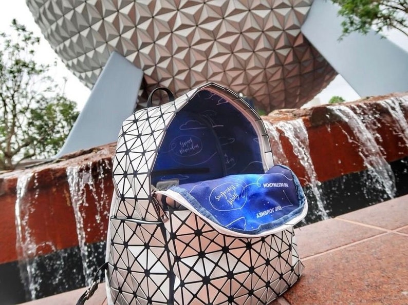 4a0fcec8ebd Spaceship Earth Backpack Epcot Bag Walt Disney World Disney