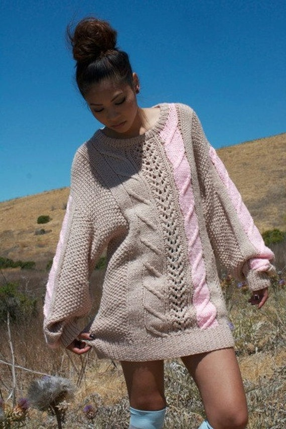 Collection set of three oversized winter sweaters